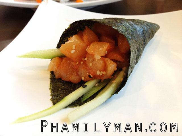 sake-2-me-sushi-tustin-spicy-yellowtail-hand-roll